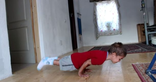 No Junk Food Here: This Kid Is Insanely Fit